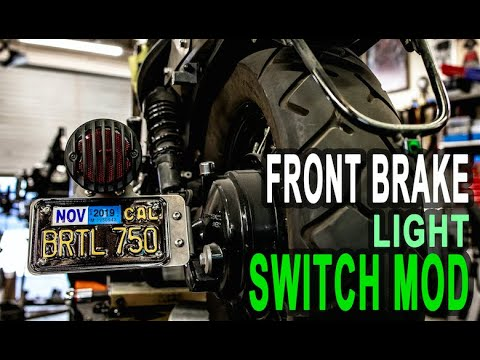 Can I Remove My Honda Shadow's Front Brake Light Switch?