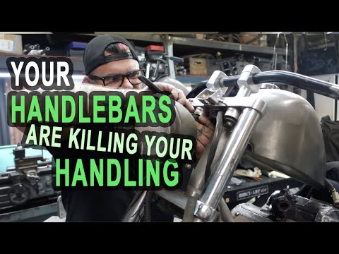 Is your handlebar setup killing your Honda Shadow's handling? Here's the solution!