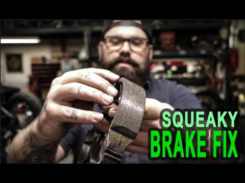 How to Fix Your Honda Shadow's Squeaky Rear Brake!