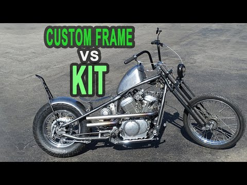 Hardtailing My Honda Shadow - Custom Frame or Kit?