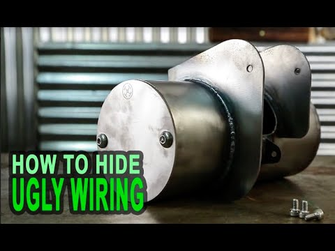 How To Hide Ugly Underseat Wiring on Your Honda Shadow Bobber