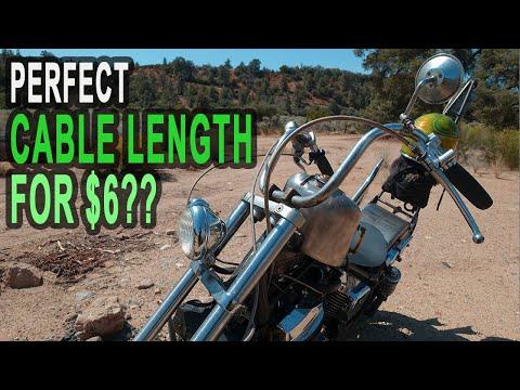 How to Find the Correct Length for New Bobber Handlebar Cables