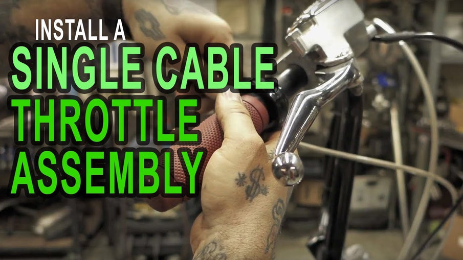 How to Install a Single Cable Throttle Assembly on Your Honda Shadow Build (VIDEO)