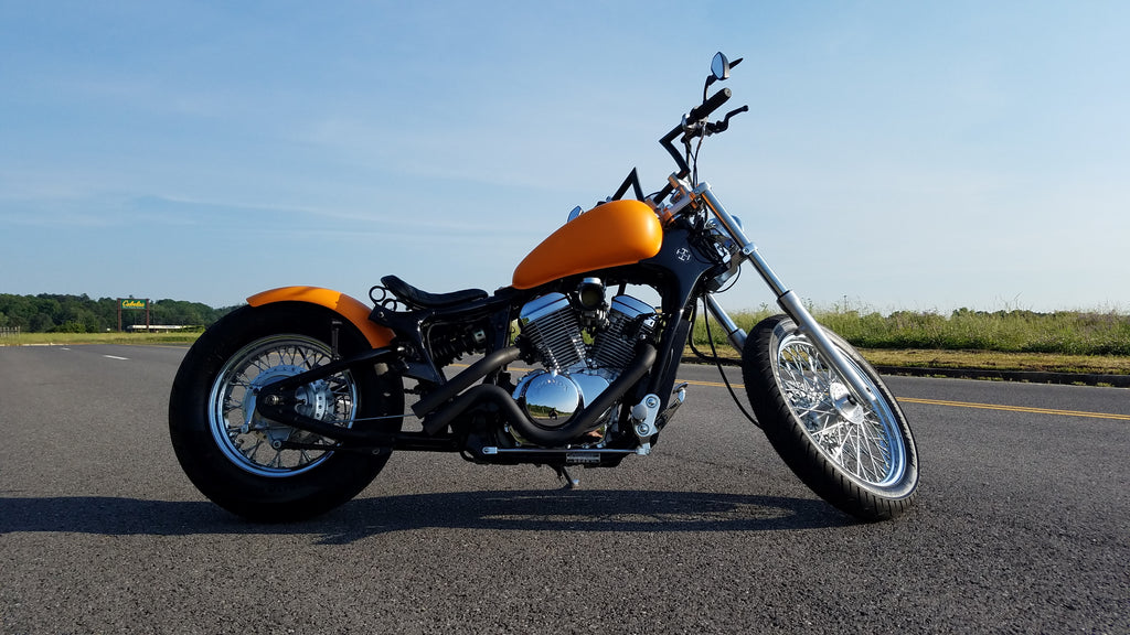 2000 Honda Shadow Vlx600 Deluxe Customer Feature Tj Brutal Customs