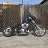 Weld-On Hardtail Kit, Honda Shadow VT600 VLX, TJ Brutal Customs, curved fender, sissy bar, solo seat pan, , Honda bobber, chopper, custom motorcycle