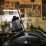 3L Lockable Jerry Can + Sissy Bar Mount
