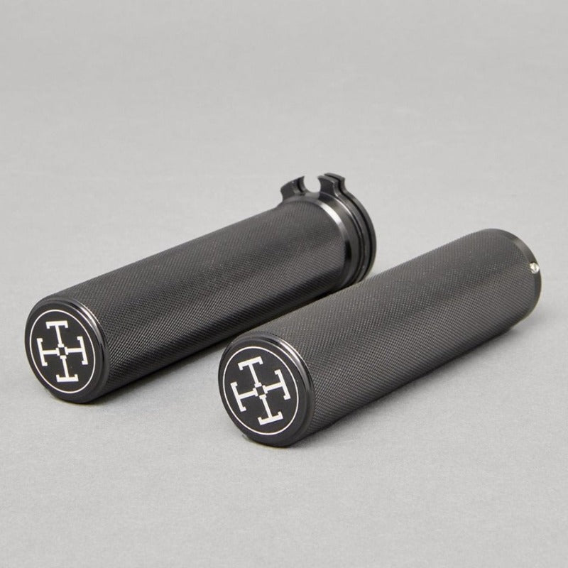 "TJ Brutal Customs The Malleus Machined Throttle Sleeve and Clutch Grips 1"" Bars"