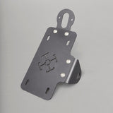 TJ Brutal Customs The Tenet Modular License Plate Bracket Satin Black Vertical