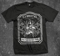 Burn to ride tshirt