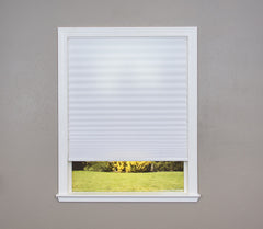 Easy Lift Cordless Pleated Light Filtering Fabric Shade
