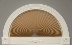 Original Arch Pleated Light Blocking Fabric Shade