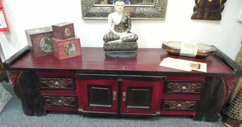 Chinese style entertainment console