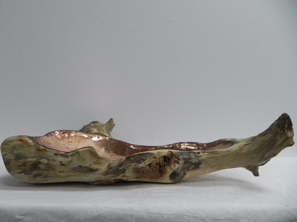 Drift Wood with Copper