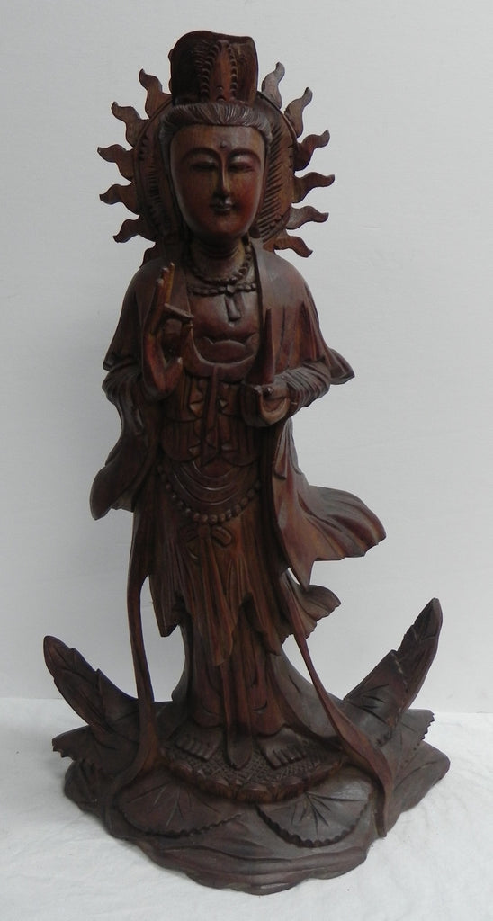 Quan Yin in Wood