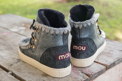Mou Lace Up Sneaker - Little Moving Spaces