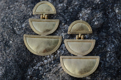 Triple Telsum Earrings - Little Moving Spaces