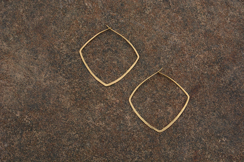 Contemporary Zuma Hoop Earring