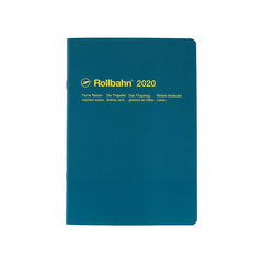 Delfonics - 2020 Rollbahn NoteDiary - Monthly - A5 - Soft Cover - Dark Green