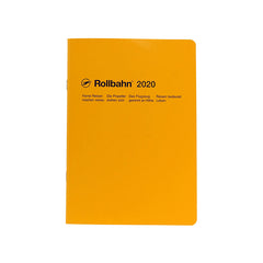 Delfonics - 2020 Rollbahn NoteDiary - Monthly - A5 - Soft Cover - Yellow