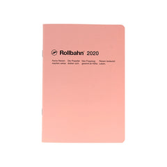 Delfonics - 2020 Rollbahn NoteDiary - Monthly - A5 - Soft Cover - Light Pink