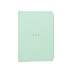 Mi Goals - 2017 Weekly Diary - A5 - Hard Cover - Mint