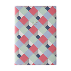 Delfonics 2019 Diary - A5 - Weekly - Soft Cover - Pink & Blue