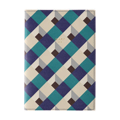 Delfonics 2019 Diary - A5 - Weekly - Soft Cover - Dark Blue & Green