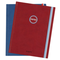 Brepols Vintage Notebook Ruled A5 - Red