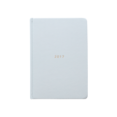 Mi Goals - 2017 Weekly Diary - A5 - Hard Cover - Grey
