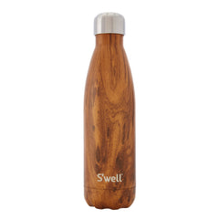 S'well - Insulated Stainless Steel Bottle - 500ml - Teakwood