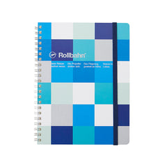 Delfonics Rollbahn Notebook - Grid - A5 (17x21cm) - Block Check Blue