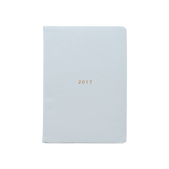 Mi Goals - 2017 Weekly Diary - A5 - Soft Cover - Grey