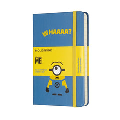 Moleskine - Minions Notebook - Pocket - Ruled - Limited Edition