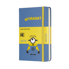 Moleskine - Minions Notebook - Large - Ruled - Limited Edition