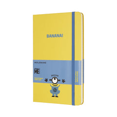 Moleskine - Minions Notebook - Large - Ruled- Limited Edition 2