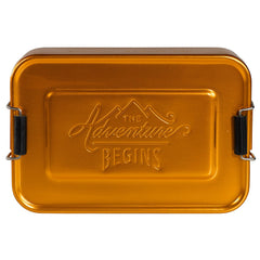 Gentlemen's Hardware - Aluminimum Lunch Tin - Gold