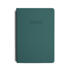 Mi Goals - 2021 - Weekly Notes Diary - A5 - Teal Green