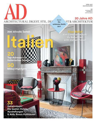 architectural digest german magazine mag nation. Black Bedroom Furniture Sets. Home Design Ideas
