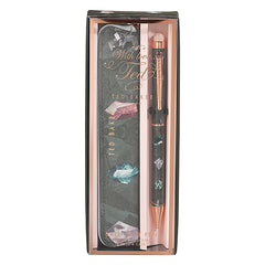 Ted Baker - Touchscreen Pen & Pouch -Linear Gem