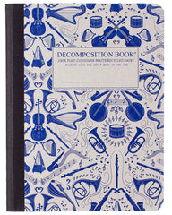 Decomposition - Notebook - Large  - Ruled - Acoustic