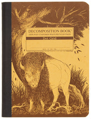 Decomposition - Notebook - Large  - Dot Grid - Bison