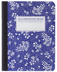 Decomposition - Notebook - Large  - Ruled - Blueberry
