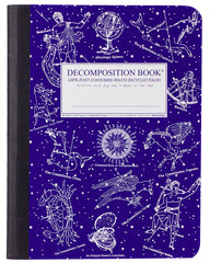 Decomposition - Notebook - Large  - Ruled - Celestial