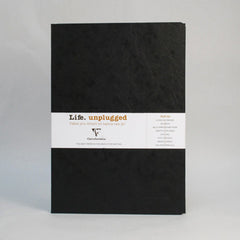 Clairefontaine Notebook - Essentials Duo - Pack of 2 - A4 - Plain Black
