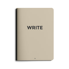 Octagon Design - Write  – Big Notebook - Lined