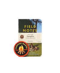 Field Notes Set of 3 - Campfire Notebooks - Grid
