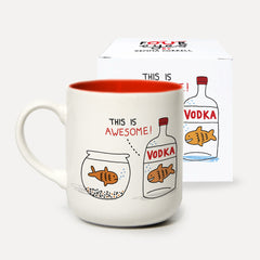 U Studio - Mug - Four Eyes - Vodka Goldfish