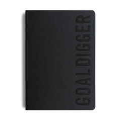 Mi Goals - 2020 Goal Digger Planner - B5 - Soft Cover - Black