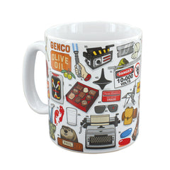 Ginger Fox - The Movie Buff Mug