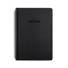 Mi Goals - 2020 Diary - A5 - Hard Cover - Black